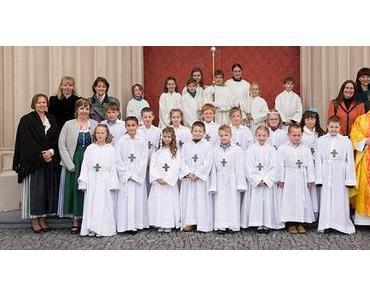 Feierliche Erstkommunion in der Pfarre Mariazell