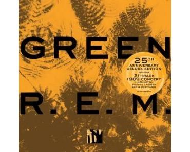 "R.E.M. mit Jubiläums-Edition ""Green"""