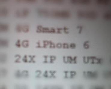 Apple iPhone 6 Vodafone Inventarliste aufgetaucht – angeblich