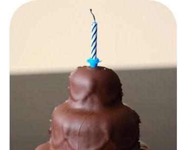 Mamor-Becherkuchen oder für einen Geburtstagskuchen ist man(n) nie zu alt...