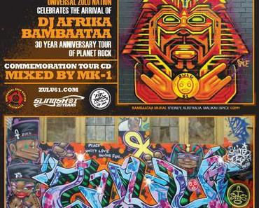 SLINGSHOT X ZULU 61 presents: The official AFRIKA BAMBAATAA Australian tour CD (mixtape)