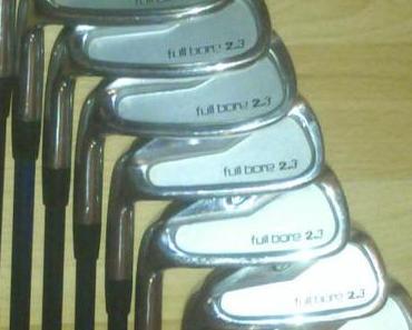 Golf Eisensatz 4 bis Sandwedge für Linkshänder abzugeben!