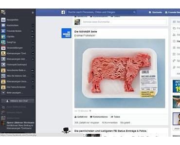 Neues Design von Facebook gesichtet
