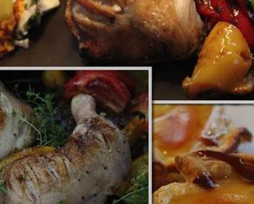 Jamie Oliver 30 Minuten Menü - Hähnchen Piri Piri, Kartoffeln mit Feta..