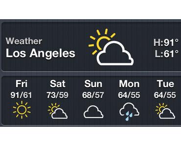 Y! Weather NC Icon Theme: Neue Wetter-Icons für Benachrichtigungs-Center