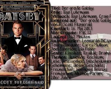 |Filmgedanken| Der große Gatsby