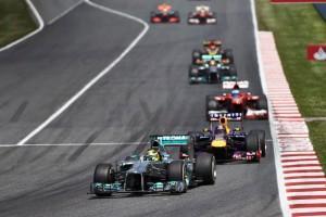 Formel 1: Reifentest bei Mercedes