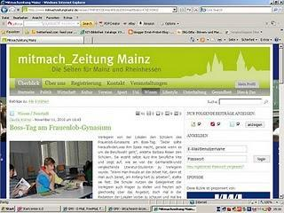 """Bei der """"Mainzer Mitmachzeitung"""" sind Autoren willkommen"""