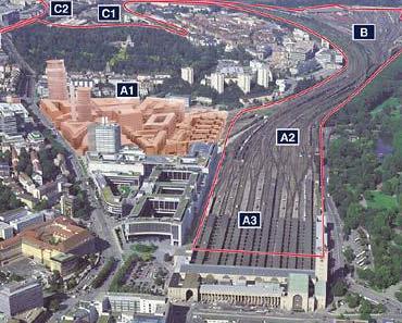 Stuttgart: Hochpreiswohnen am Tiefbahnhof