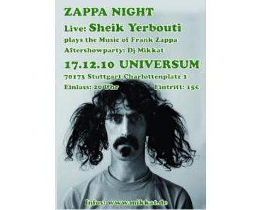 frank zappa night im universum