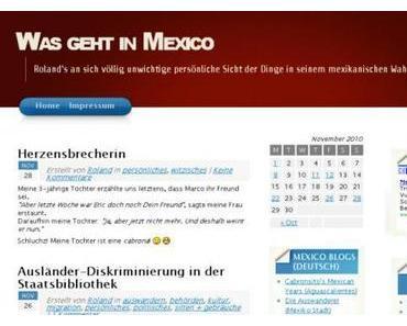 Klickempfehlung: Was geht in Mexico