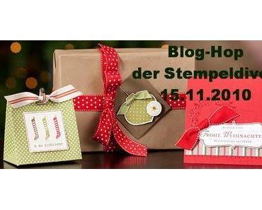 Perfekte Weihnachtspäckchen Blog Hop der Stempeldiven