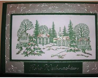 Nostalgische Weihnachtskarte und ISDI # 11