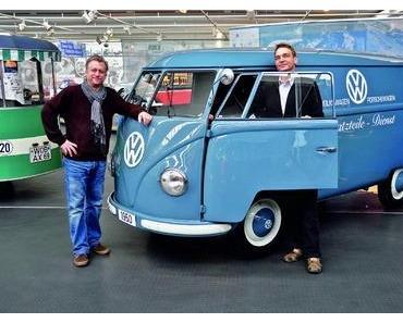 Seltene Leihgabe - VW Kastenwagen T1 aus 1950 für AutoMuseum in Wolfsburg