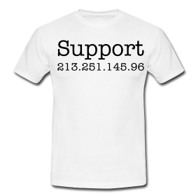 Das inoffizielle Wikileaks Supporter Shirt.