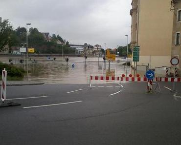 Hochwasser Sachsen 2013 – Meissen – aktuell 8.00 Uhr
