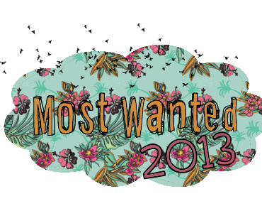  Most Wanted in 2013  Zweitbücher, Reihenfortsetzungen und Autorengeschreibsel