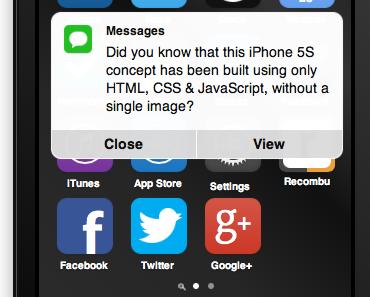 Nahezu perfektes und interaktives iOS 7-Konzept