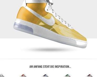 Nike Air Force 1 Premium iD - durchsichtig