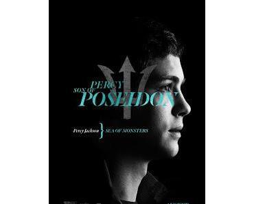 Percy Jackson - Im Bann des Zyklopen: Erstes Charakterposter von Logan Lerman als Sohn des Poseidon