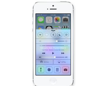 iOS 7 vorgestellt: komplettes Redesign, AirDrop, Auxo-like Multitasking, Control Center und mehr
