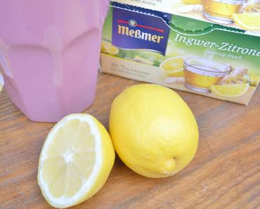 #81 Ingwer-Zitronen Eistee