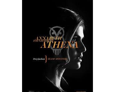 Percy Jackson - Im Bann des Zyklopen: Tochter von Athene auf neuem Charakterposter