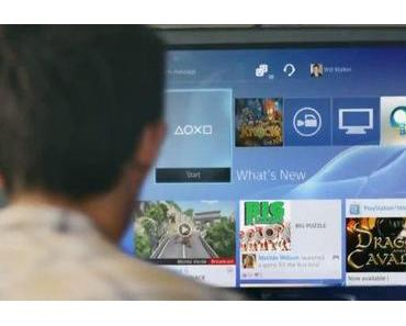 Playstation 4: Neues Interface im Video