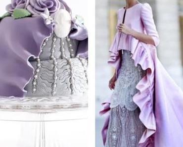 Eine Torte wie ein Kleid