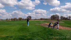 Ein toller Tag beim Golfen, oder mein Driver hatte zeitweises AUA