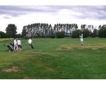 Wallgang hat mal wieder Golf in Wall unsicher gemacht!