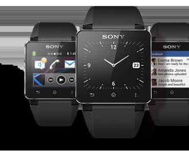 Sony zeigt Neues: Smartwatch 2 und Xperia Z Ultra