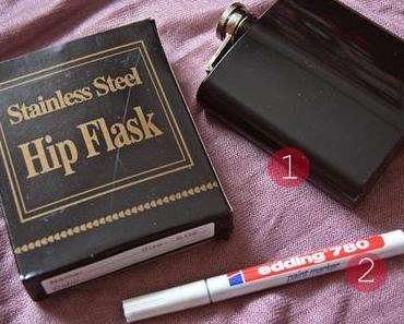 DIY: How to pimp a lame hipflask?