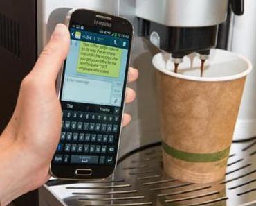 Kaffee einfach mal per SMS bestellen