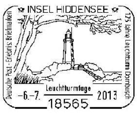 Sonderpostamt am Leuchtturm Dornbusch