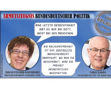 """CDU: """"Religionsfreiheit ist das zentralste Menschenrecht"""" (Ramadan zum Schutz der Kinder?)"""