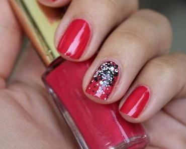 Sommer Maniküre mit L'Oréal Opulent Pink & Confettis