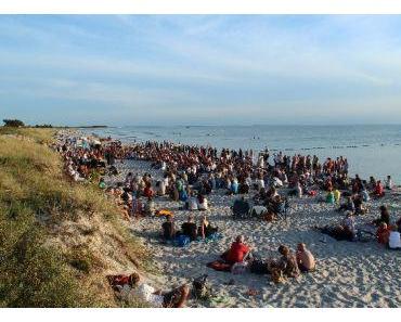 Ein schönes Strandkonzert mit Thomas Putensen