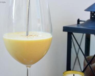 Durstlöscher : Mango Lassi mit Datteln