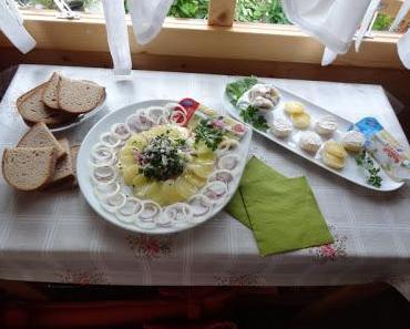 Unsere Hütten-Vesper mit Harzinger Minis!