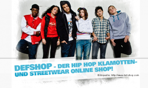 DefShop – Streetwear und Fashion Highlights
