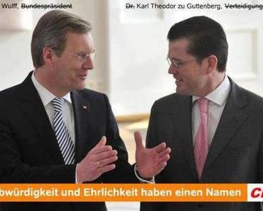 CDU-Satiregipfel: Wahlplakate, -Broschüren und Zitate der CDU