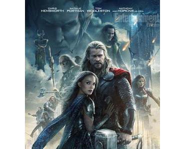 Thor 2 - The Dark Kingdom: Neues Filmposter mit Starbesetzung