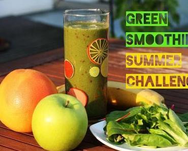 Abschluss der Green Smoothie Challenge und Test der LEBEPUR Produkte