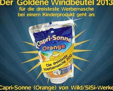 Capri-Sonne  bekommt den Goldenen Windbeutel 2013