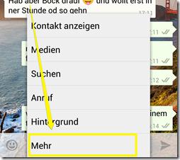 WhatsApp: Kontakte blockieren bzw. wieder freigeben