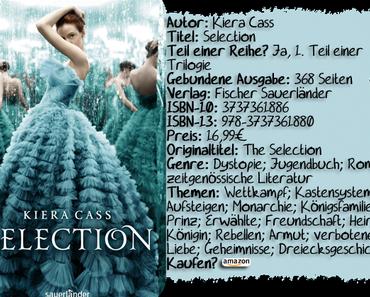 "|Rezension| ""Selection"" von Kiera Cass"