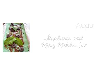 Zu Gast: Stephanie von 'Meine Küchenschlacht' mit Minz-Mokka-Eiskrem