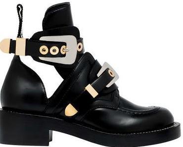 Balenciaga cut out boots go mainstream