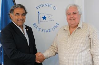 Blue Star Line - Die Planungen um die neue Titanic II gehen in entscheidene Phase